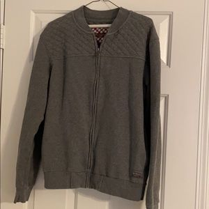 Ben Sherman grey fleece jacket